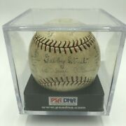 Beautiful 1930 St. Louis Cardinals World Series Game Used Team Signed Baseball