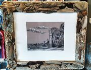 Laguna Beach Ca Limited Edition Art Victoria Beach Hand-colored And Signed