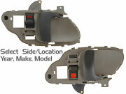 Oem Replacement Inside Lever Front /rear Interior Door Handle For Chevy/cadillac