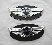 Grille Trunk Dress Up Emblem For Hyundai Genesis Coupe 2011 2015