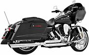 Freedom Union 2-into-1 Chrome Exhaust System Road King Electra Street Tri Glide