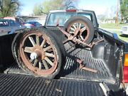 Vintage Maxwell Front Axle Complete W Tires Rims Etc