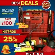 Hilti Te 35 Hammer Drill L@@k Brand New Germany Very Strong Fast Shipping