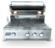 Rcs Pro Series Stainless Steel 30 Cutlass Grill With Blue Led -natural Gas