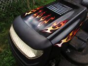 Tribal Flame Decals 10pc Kit - Pick Colors For Lawn Mower Racing Craftsman Deere