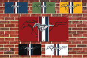 Mustang Garage Shop Banner Tribute Multiple Colors And Sizes