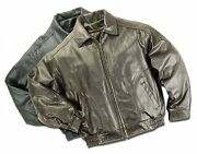 Classic Reed Union Made In Usa All American Quality Bomber Cow Leather Jacket