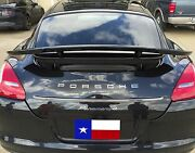 2010-2013 2014-2017 Painted Porsche Panamera Tuner Style 4dr 2post Spoiler