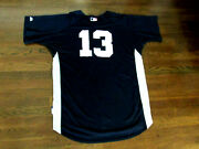 Alex Rodriguez 13 Yankees 2009 Wsc Spring Training Game Used Jersey Steiner Loa