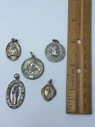 Vintage Religious Medals, St Jude, St Christopher, St Anthony