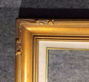 5 Wide Gold Leaf Ornate Photo Family Oil Painting Wood Picture Frame 607gl