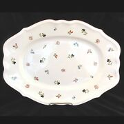 Petite Fleur Villeroy And Boch Large Platter 17 Long New Never Used Luxembourg