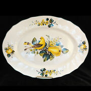 Jamaica Villeroy And Boch Platter Large 16.75 New Never Used Made In Luxembourg