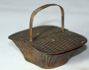 Antique C1880and039sw. Avery And Son Redditchpicnic Basket Victorian Needle Case