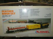 O Scale Lionel 6-11733 Feather River Set With Gp9 Locomotive Model Train