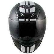 Motorcycle Vinyl Stripe Helmet Graphic Decal Set 3 Stripes Decals Fit Full Half