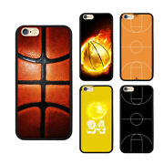 Sport Basketball On Fire Cover Phone Case For Iphone 12 11 Xr And Samsung S20 S10+