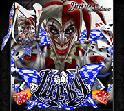Yamaha Raptor 700 2013-2020 Lucky Graphics Decals Full Coverage Custom Colors