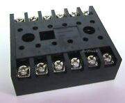 Custom Connector Corp Sd12 Relay Socket - 12-pin Screw Terminal - For Msd Relays