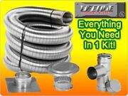 Lifetime 5.5x35 Smooth Wall Chimney Liner Kit