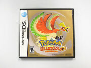 Pokemon Heart Gold Case Only Ds Us Version