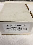 Pierce Arrow V-12 Cylender Head Stainless Nuts And Washers - C And C Manufactured.