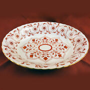 Royal Crown Derby Rougemount Open Vegetable Oval 10 Long England New Never Used