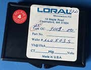 25x Gc-9003-00 Loral Microwave-fsi Wafer Die Chip-style 25/units
