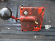 1959 Case 600 Gas Tractor Transmission Hi-lo High Low Shift Shifting Tower