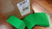 Genuine Lego Base Plate 8x16 Minifigure - Case Of 1000 - Bright Green Thin - New