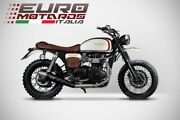 For Triumph Thruxton Carbureted Model Zard Exhaust Unica Full System -3.8kg