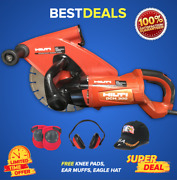 Hilti Dch 300 Electric Diamond Cutters, Preowned, Free Pads, Ear Muffs,fast Ship