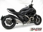For Ducati Diavel 2011-2016 Zard Exhaust Full System With Carbon Cap Silencer