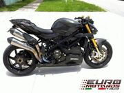For Ducati Streetfighter Zard Exhaust Steel System And Stainless Silencers +3hp