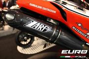 For Ducati 848 1098s Zard Exhaust Full System And Penta-evo Carbon Silencers +4hp