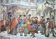 New Hand Cut Wooden Anton Pieck Christmas 501 Piece Jigsaw Puzzle In Plywood Box