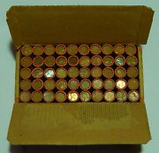 25 Sealed Lincoln Wheat Roll Box 1909-1958 P D S Cent Penny Pennies 50 Rolls