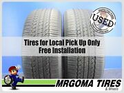 Set Of 2 Toyo Open Country A20 245/55/19 Used Tires 73 Rmng No Patch 2455519