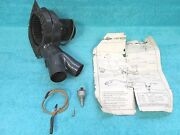 1952-55 Ford Car 6 Volt Defroster Blower Motor And Switch Kit  Nos Ford 1216