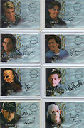 Buffy The Vampire Slayer And Spike -  Autograph And Pieceworks Selection Nm