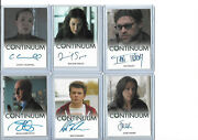 Continuum Seasons 1 2 3 - Autograph And Costume Card Selection Nm Rittenhouse