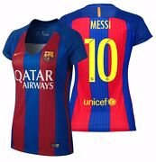 Nike Lionel Messi Fc Barcelona Womenand039s Home Jersey 2016/17 Qatar