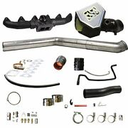 Fits 07.5-09 Only Dodge Ram Diesel Bd Rumble B S400 Turbo Installation Kit...