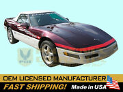1995 Corvette C4 Indy 500 Pace Car Complete Decals And Stripes Kit