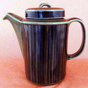 Arabia Kosmos Coffee Pot New Never Used Oven Proof 7.5 Tall Made In Finland
