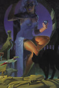 Night's Lethal Lady Pin Up Poster Steranko Art
