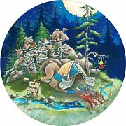Bear Camper Guest Spare Tire Cover All Sizes Available-back Up Camera Optional