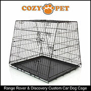 Range Rover And Discovery Car Dog Cage By Cozy Pet Puppy Crate Cages Crates Cdc08