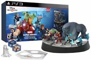 New Ps3 Disney Infinity 2.0 Marvel Super Heroes Collector's Edition W Giant Base