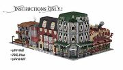 Lego Custom Modular Buildings Collection - Instructions Only